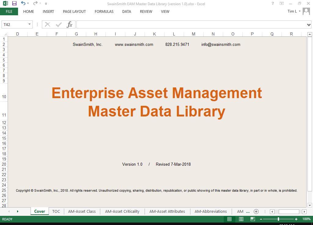 Master Data Library Sample