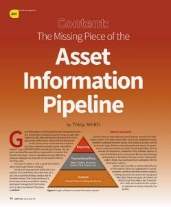 Asset Information Pipeline