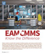 EAM CMMS Know the Difference