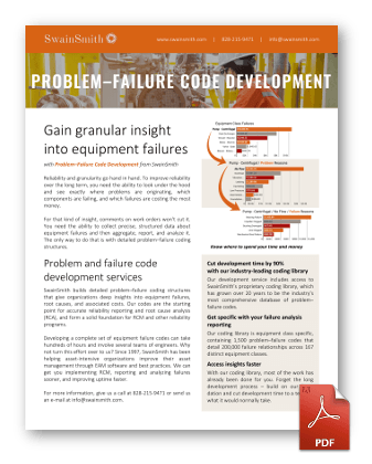 Problem Failure Code Development