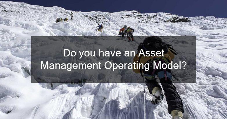 Asset Management Model